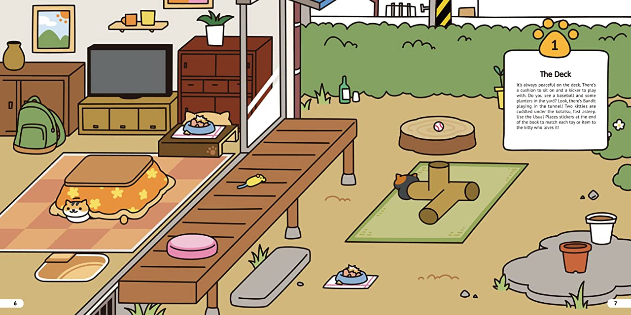 Neko Atsume Kitty Collector: Where Am I Meow? Vol. 1