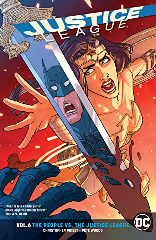 Justice League (2016-) Tome 6: The People vs. The Justice League