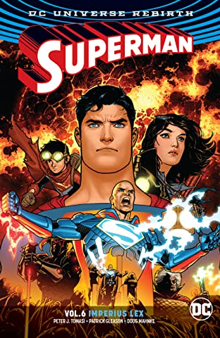 Superman (2016-2018) Vol. 6: Imperius Lex