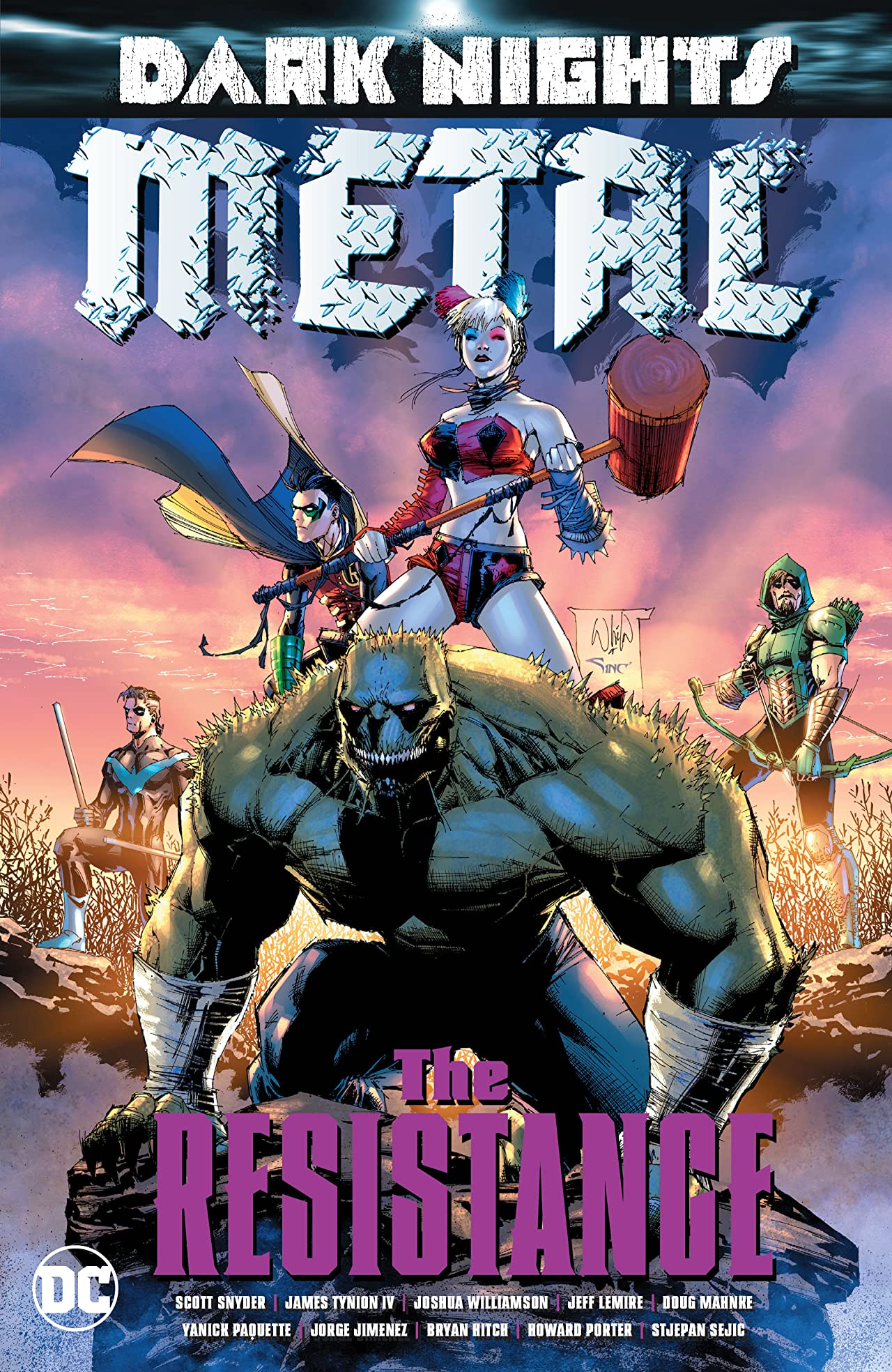 Dark Nights: Metal: The Resistance