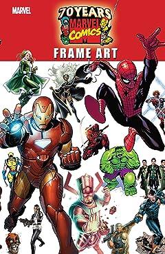Marvel 70th Anniversary Frame Art (2007) #1