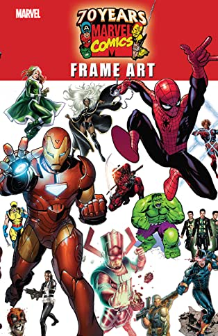 Marvel 70th Anniversary Frame Art (2007) #1