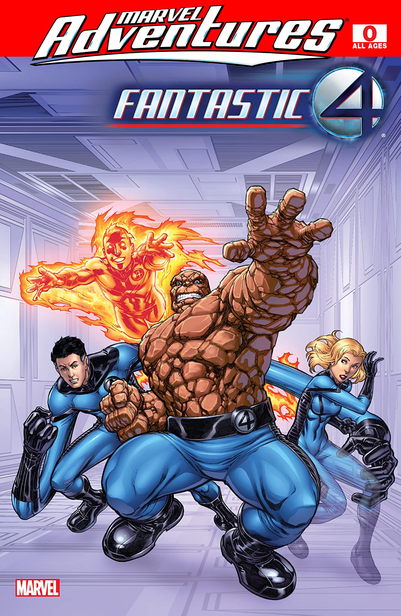 Marvel Adventures Fantastic Four (2005-2009) #0