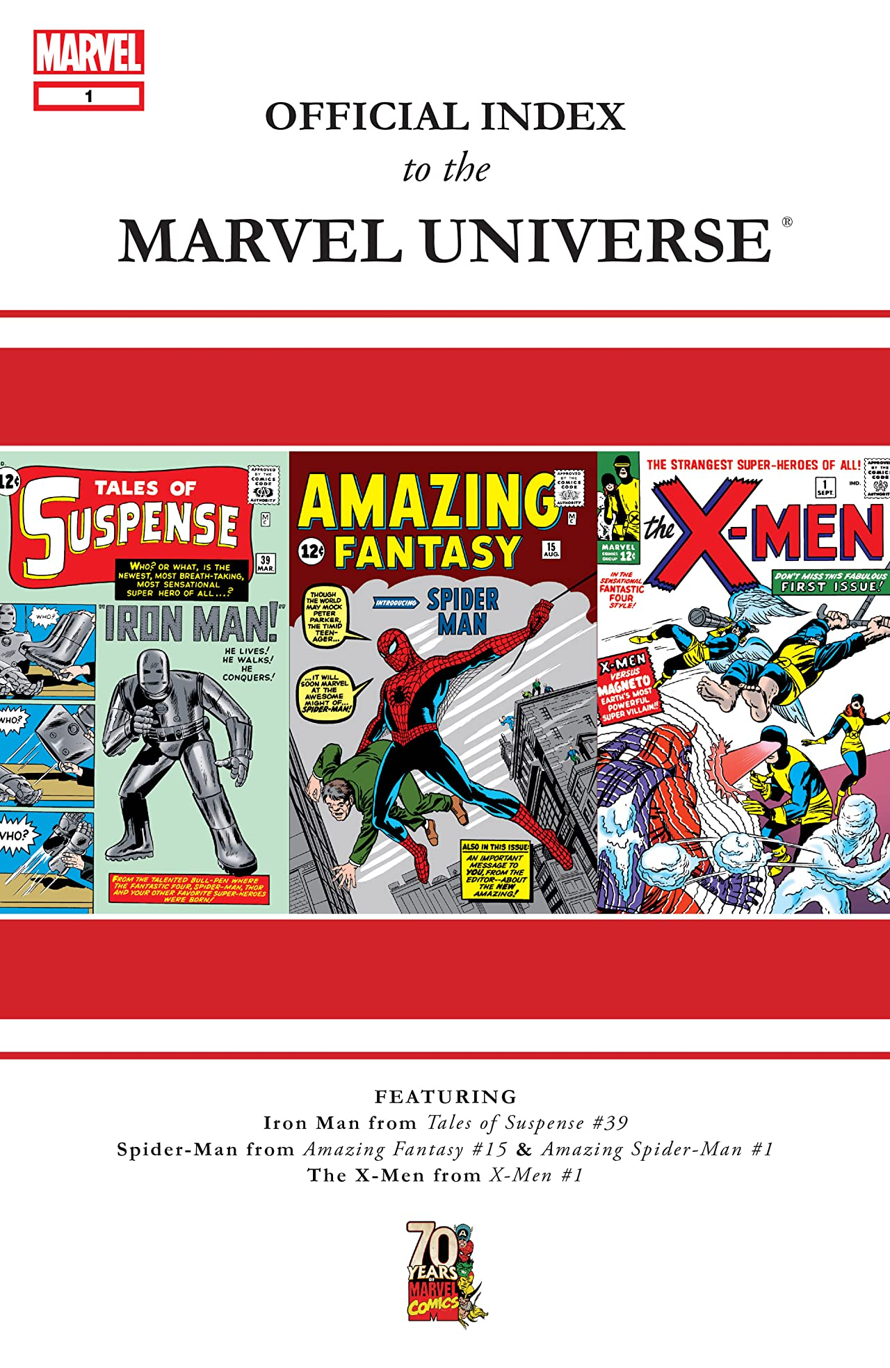 Official Index to the Marvel Universe (2009-2010) #1