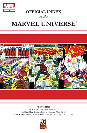 Official Index to the Marvel Universe (2009-2010) #5