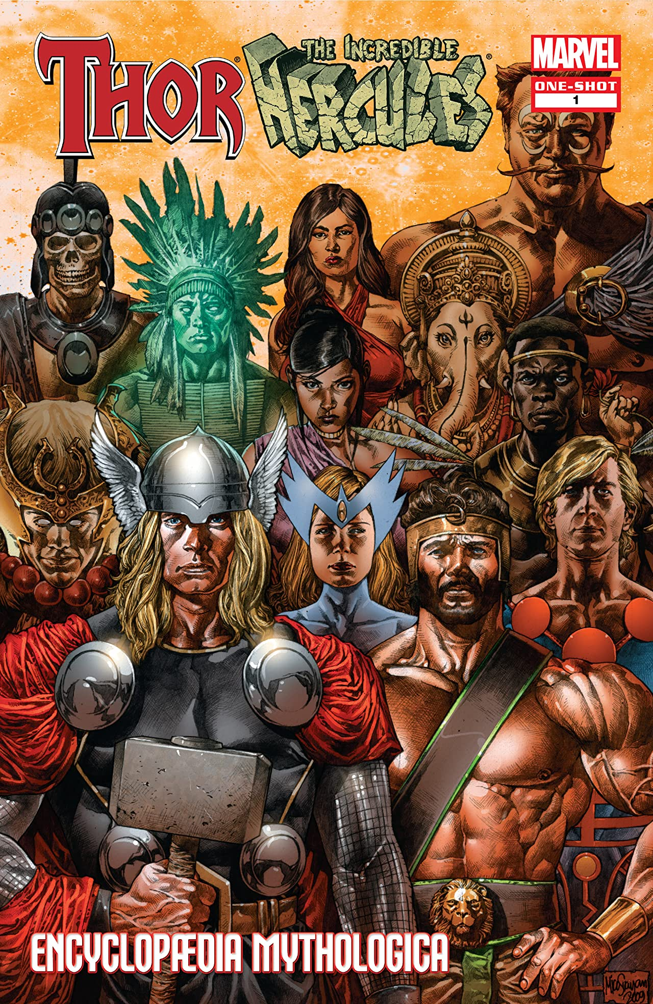 Thor & Hercules: Encyclopædia Mythologica (2009) #1