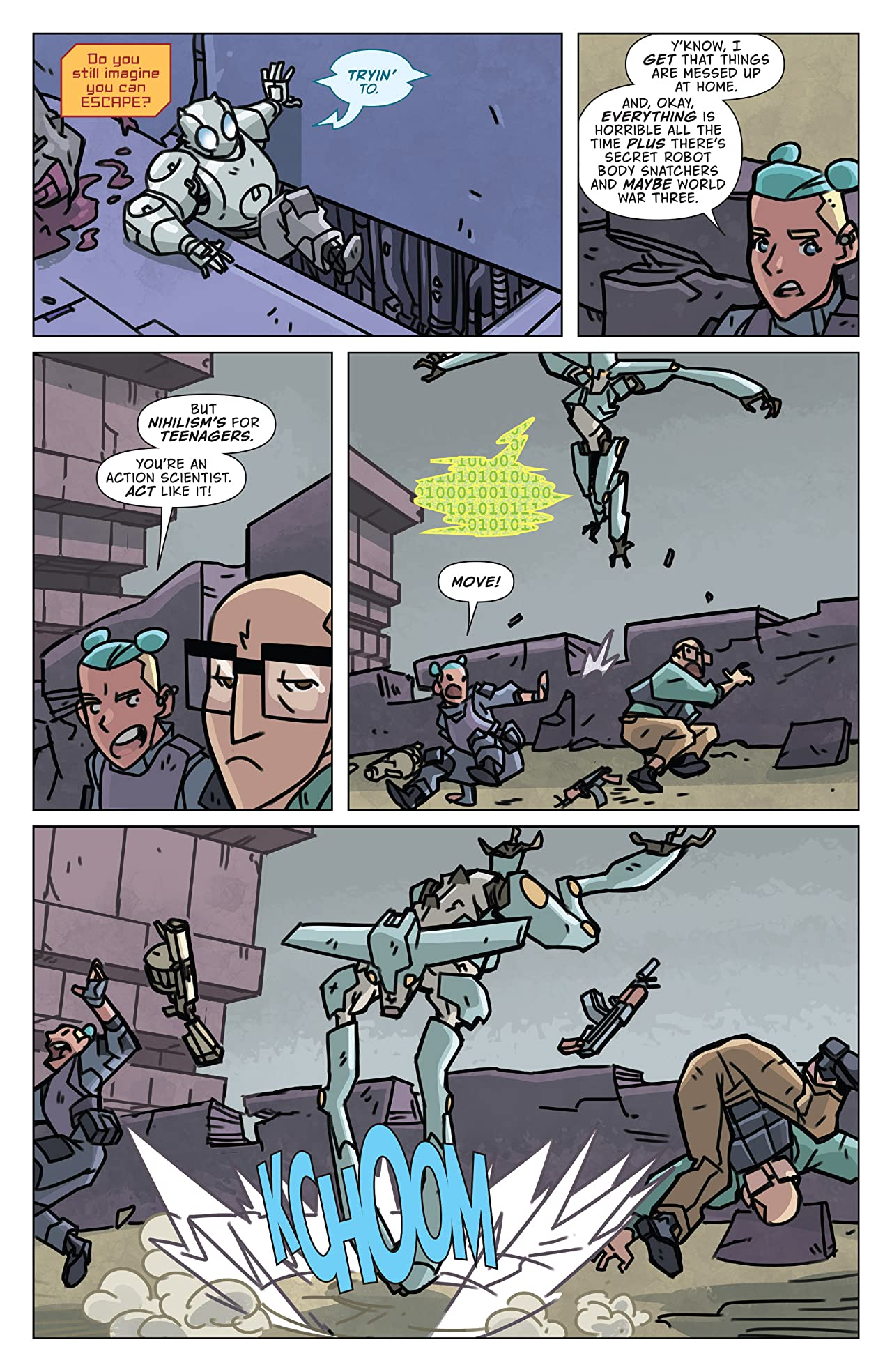 Atomic Robo and the Spectre of Tomorrow No.5