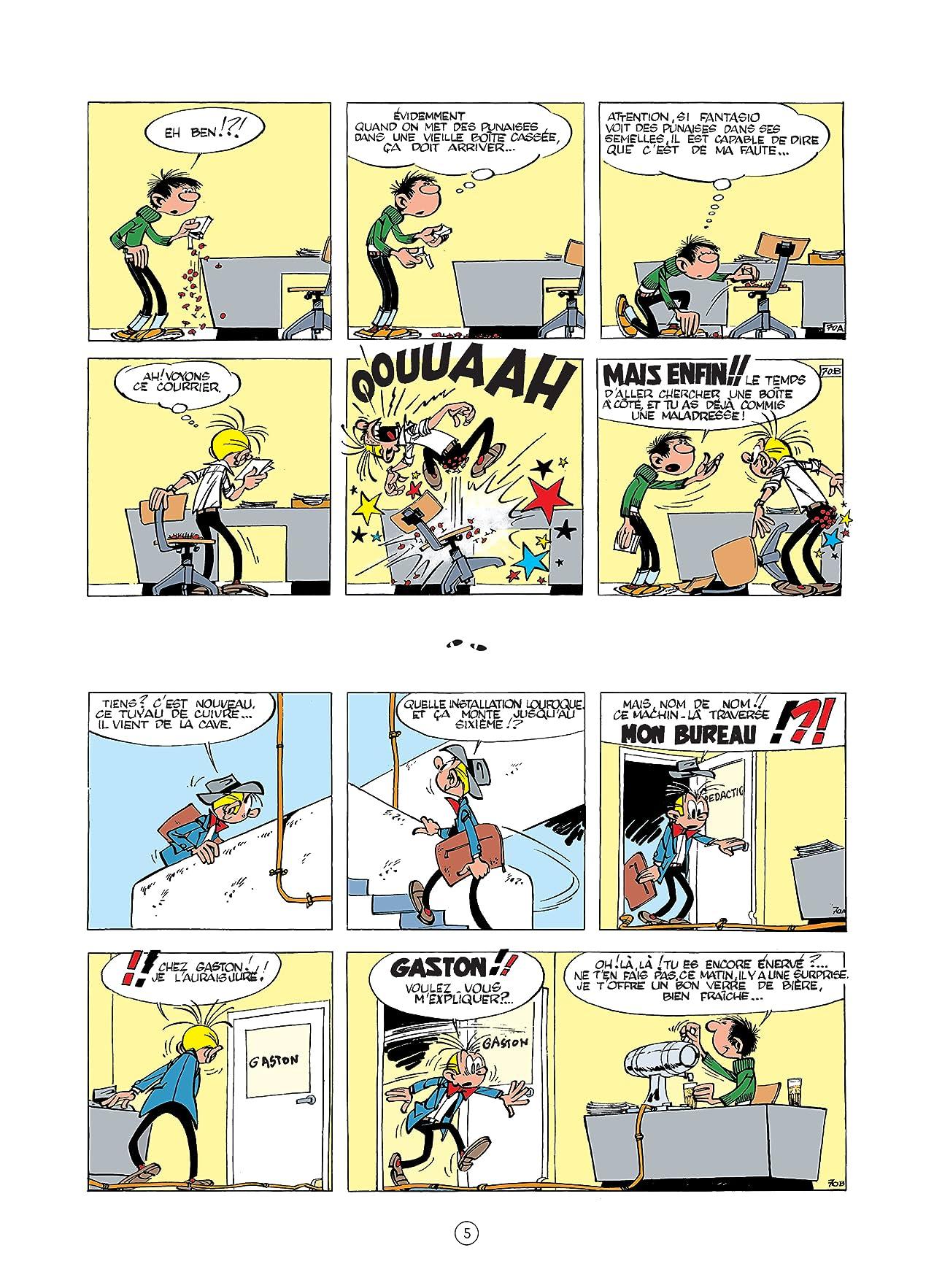 Gaston (Edition 2018) Vol. 2: Gare aux gaffes