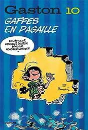 Gaston (Edition 2018) Vol. 10: Gaffes en pagaille