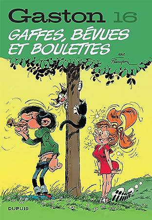 Gaston (Edition 2018) Vol. 16: Gaffes, bévues et boulettes