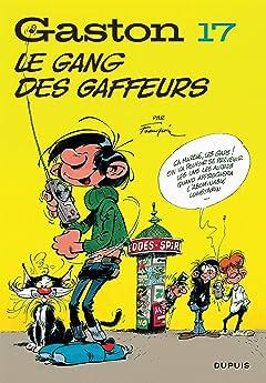 Gaston (Edition 2018) Vol. 17: Le gang des gaffeurs