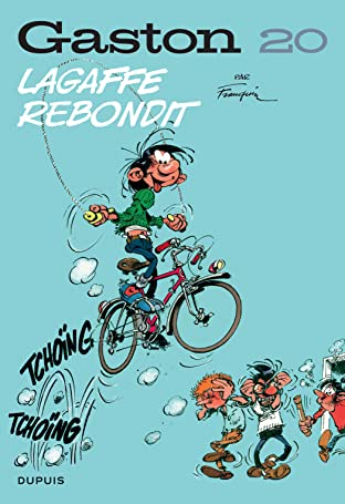 Gaston (Edition 2018) Vol. 20: Lagaffe rebondit