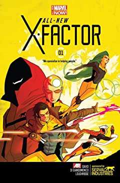 All-New X-Factor (2014-2015) #1