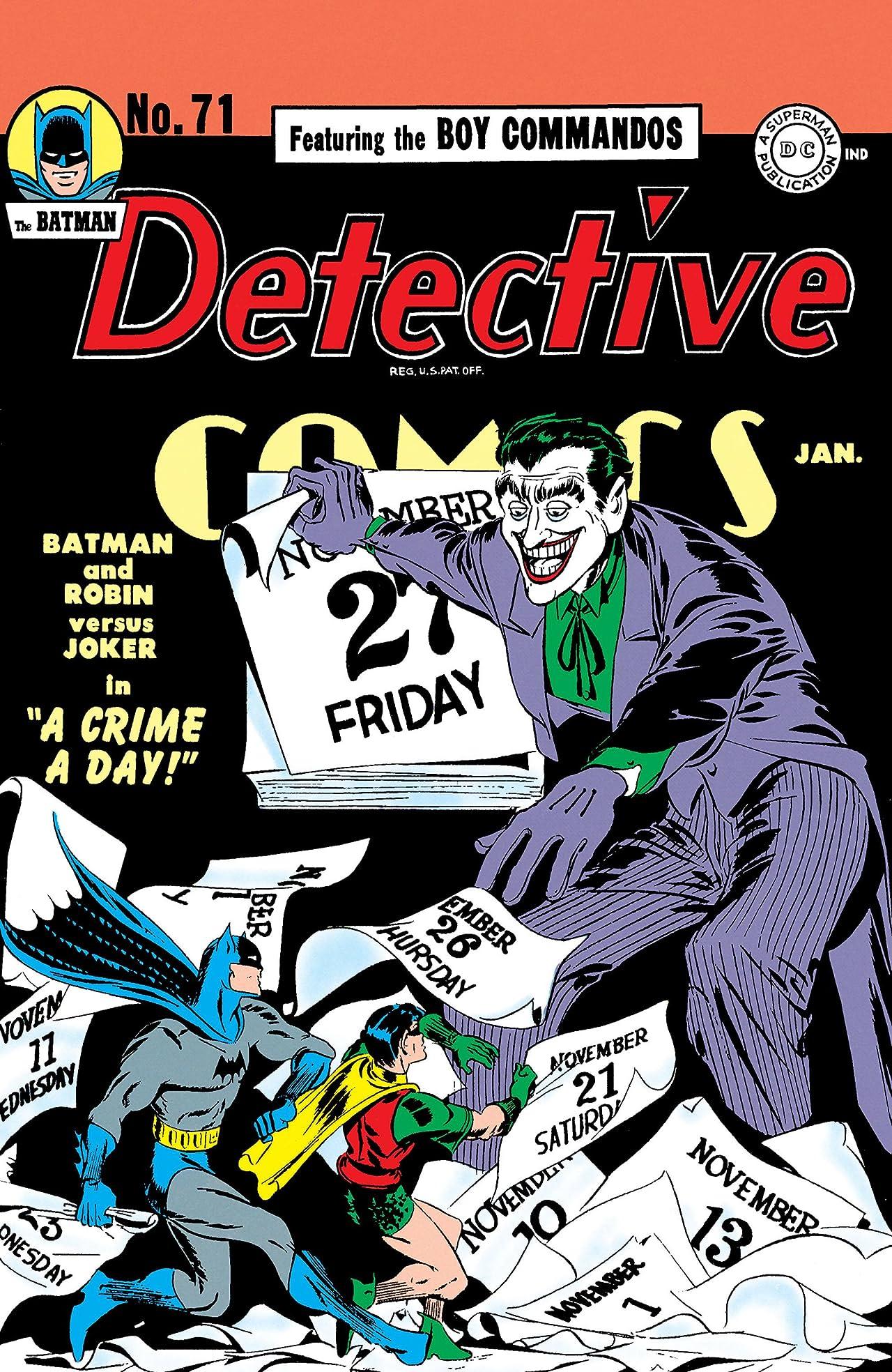 Detective Comics (1937-2011) #71
