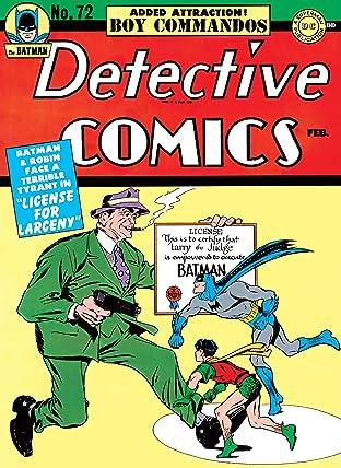 Detective Comics (1937-2011) #72