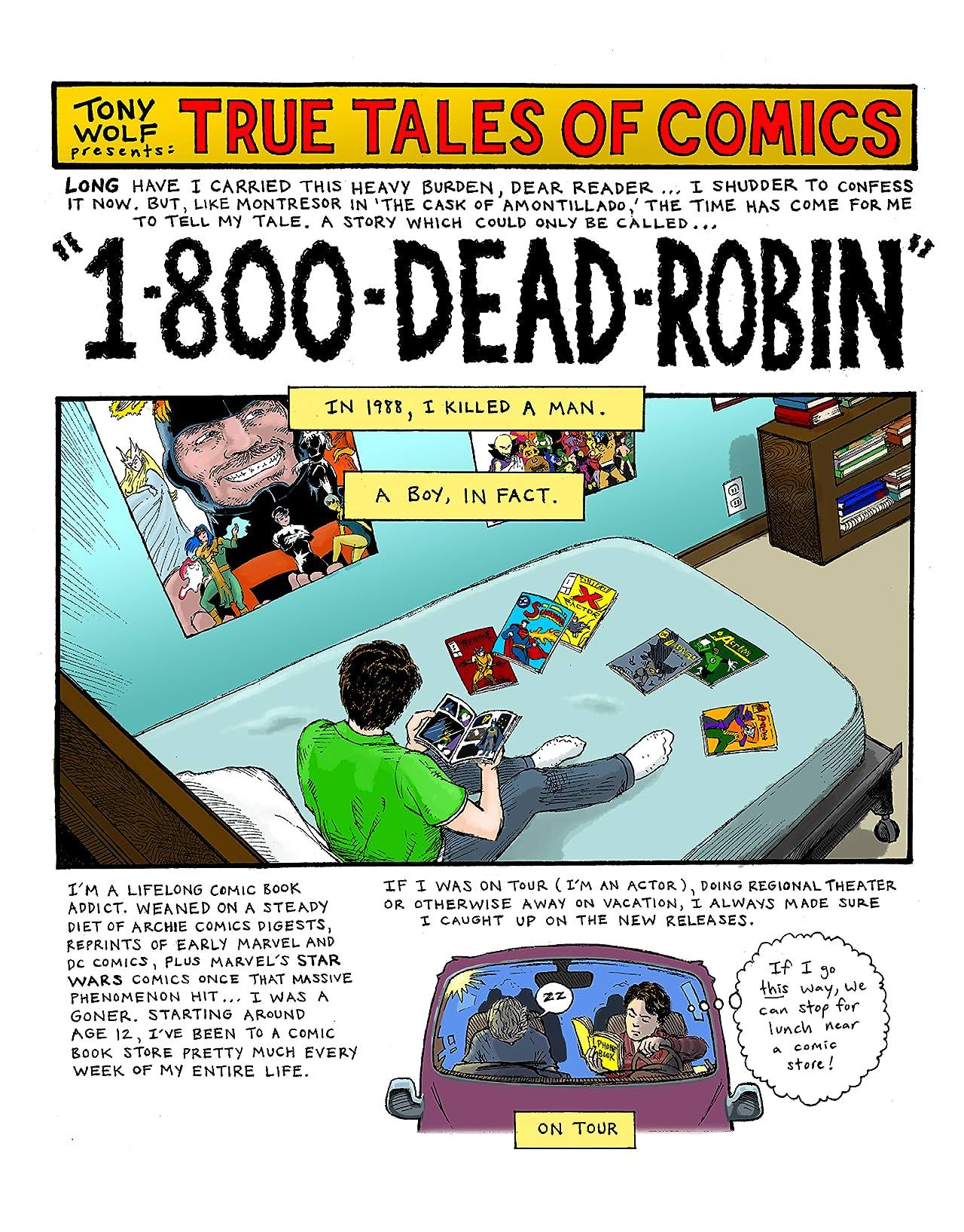 True Tales of Comics