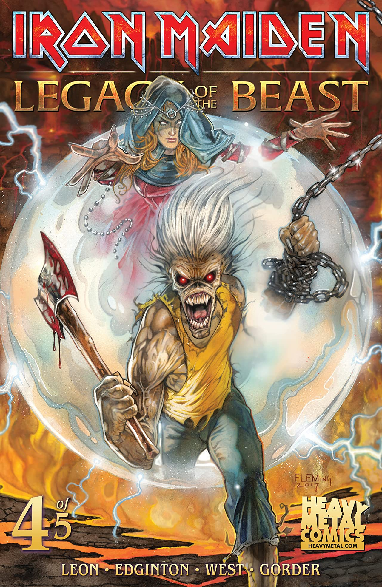 Iron Maiden: Legacy of the Beast #4 (of 5)