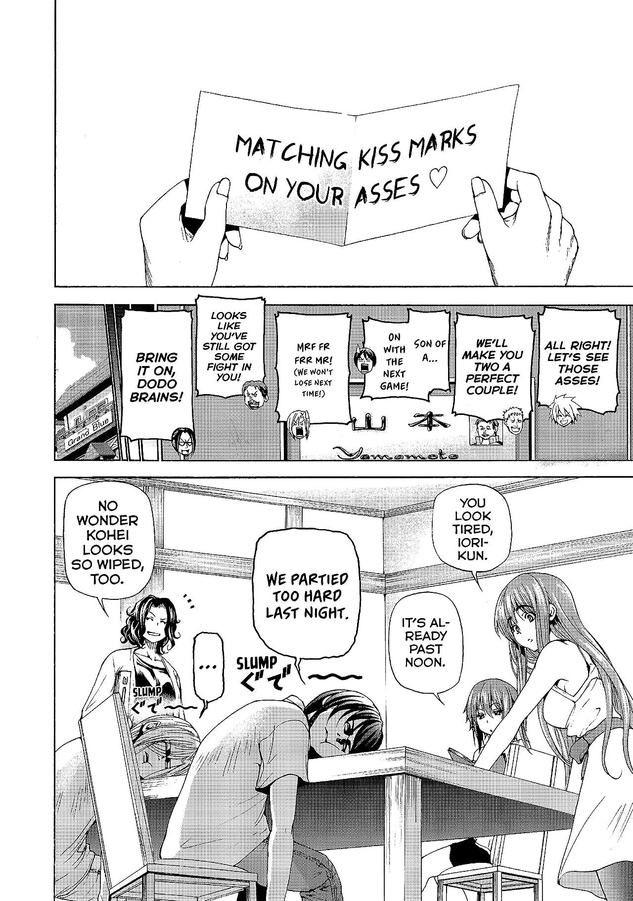 Grand Blue Dreaming: Side Story - Mahjong