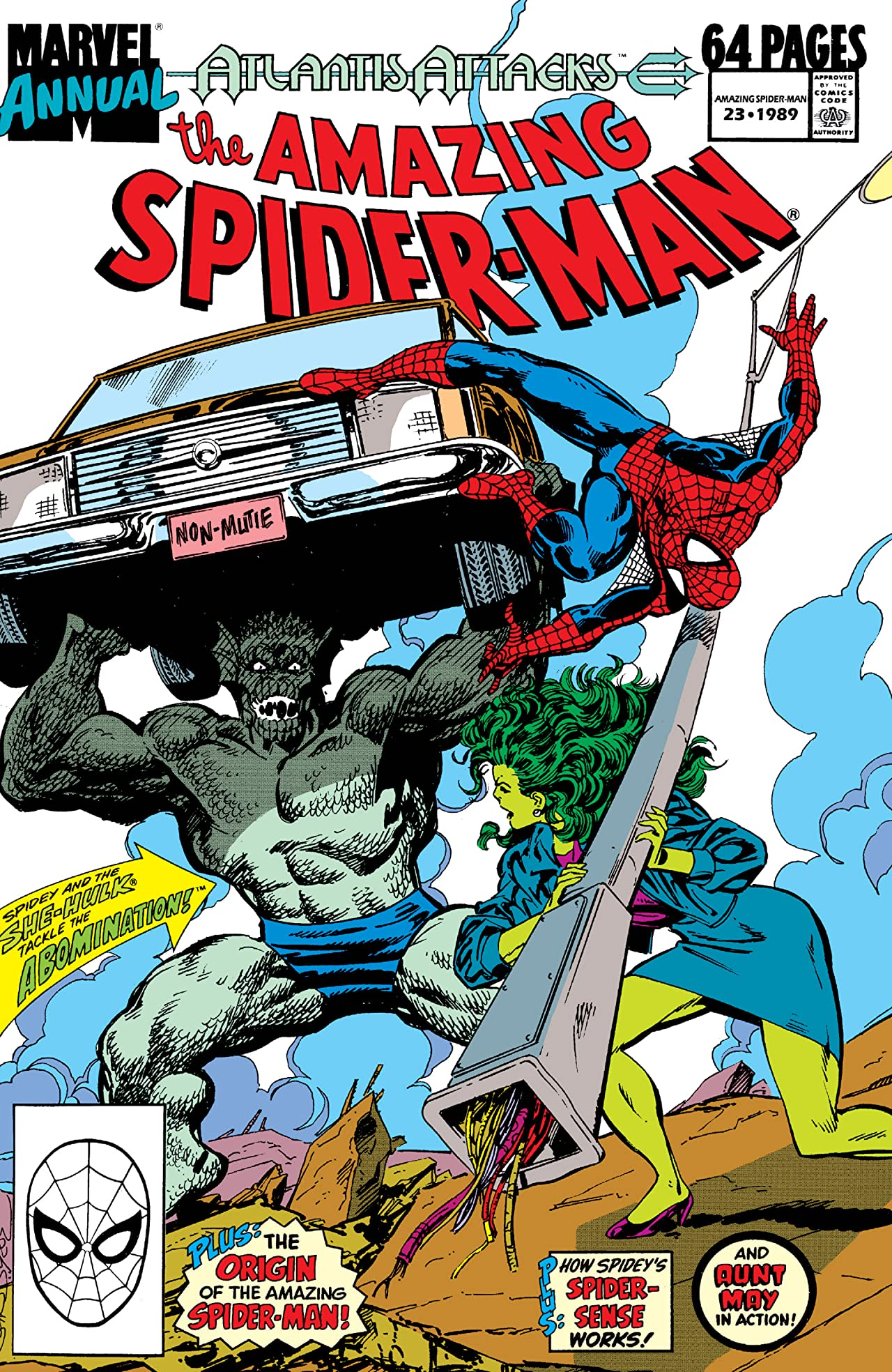 Amazing Spider-Man (1963-1998) Annual #23