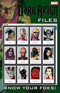 Dark Reign Files (2009) #1