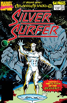 Silver Surfer (1987-1998) Annual #2