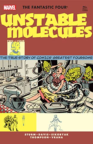 Startling Stories: Fantastic Four - Unstable Molecules (2003) #2 (of 4)