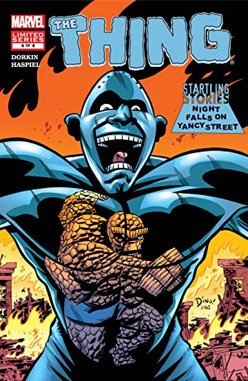Startling Stories: The Thing - Night falls on Yancy Street  (2003) #4 (of 4)