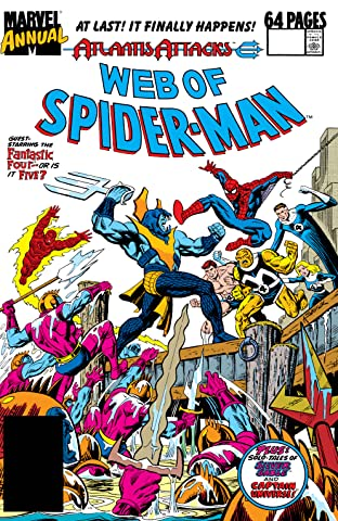Web of Spider-Man (1985-1995) Annual No.5