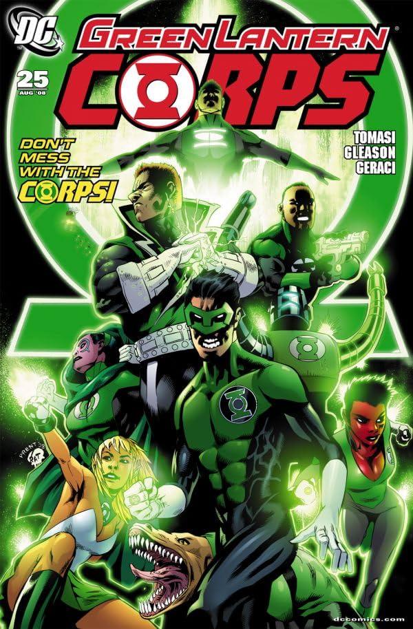 Green Lantern Corps (2006-2011) #25