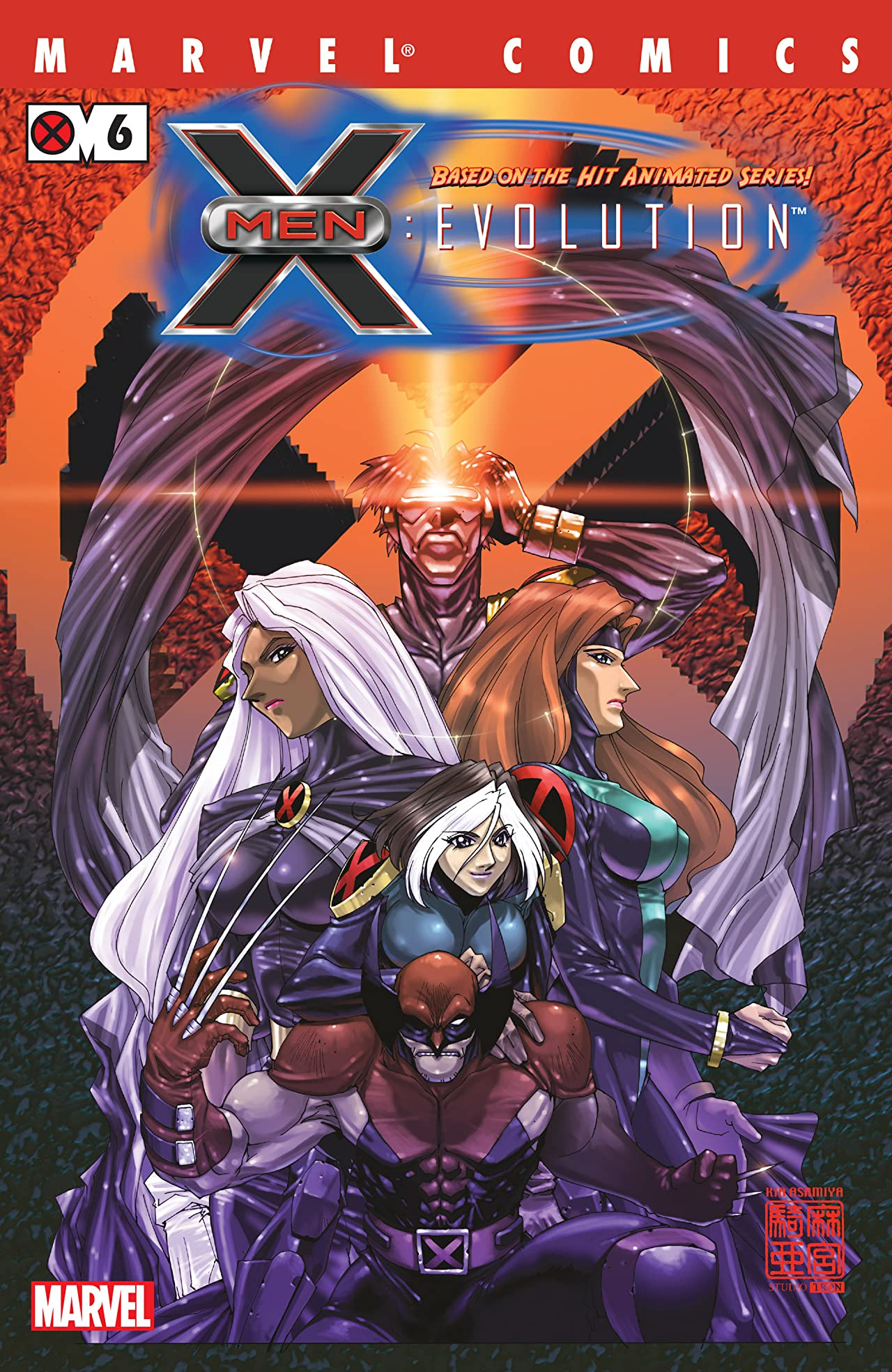 X-Men Evolution (2002) #6