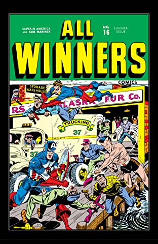 All-Winners Comics (1941-1946) #16