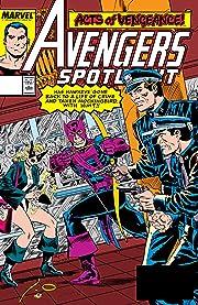 Avengers Spotlight (1989-1991) #28