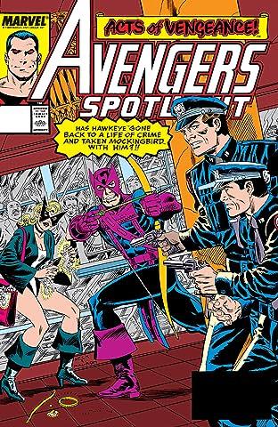 Avengers Spotlight (1989-1991) No.28