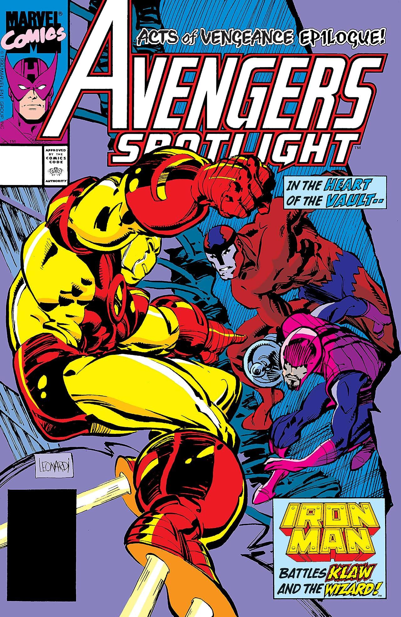Avengers Spotlight (1989-1991) #29
