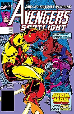 Avengers Spotlight (1989-1991) No.29