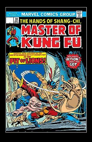 Master of Kung fu (1974-1983) #30
