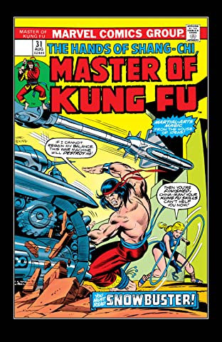 Master of Kung fu (1974-1983) #31