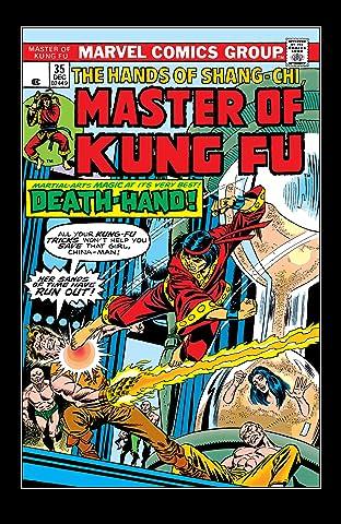 Master of Kung fu (1974-1983) #35