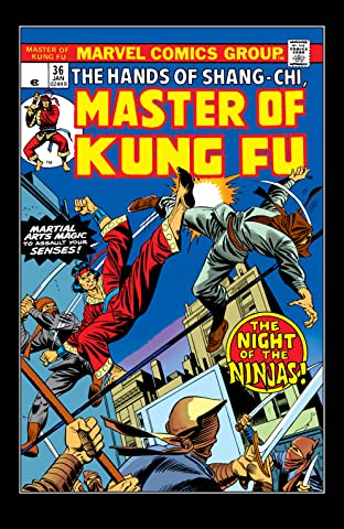 Master of Kung fu (1974-1983) #36
