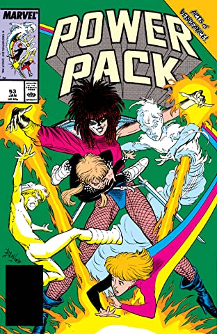 Power Pack (1984-1991) #53
