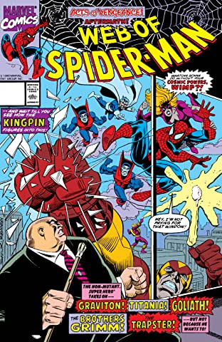 Web of Spider-Man (1985-1995) #65