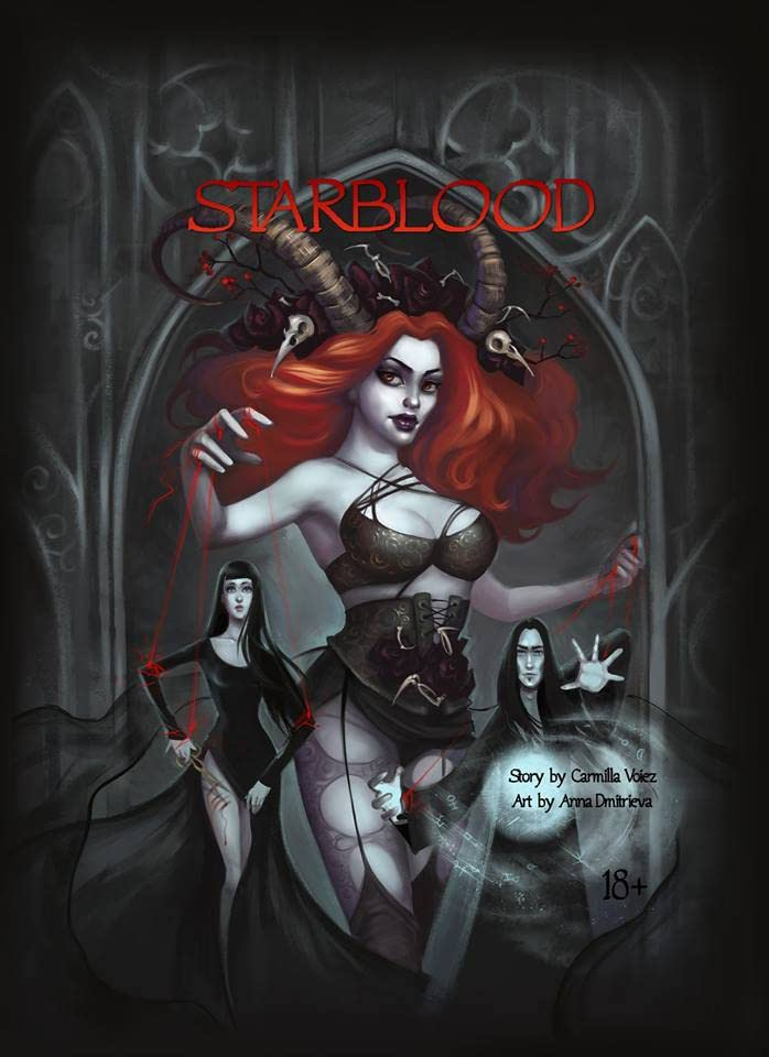The Starblood Trilogy Vol. 1: Starblood, the graphic novel