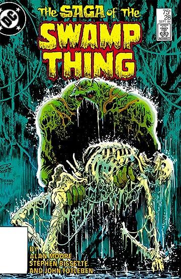 Swamp Thing (1982-1996) #28