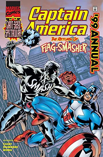 Captain America Annual 1999