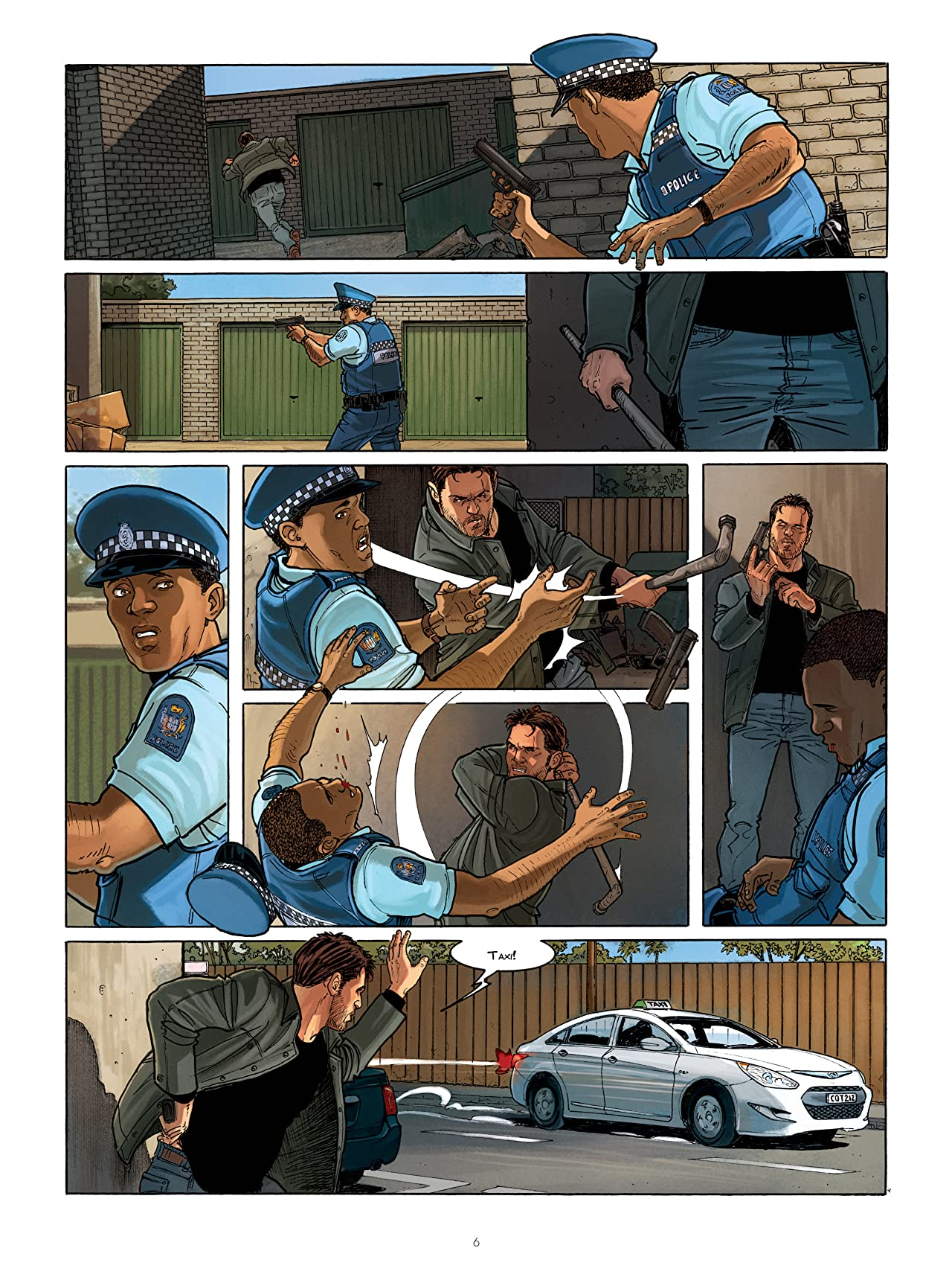 Sisco Vol. 10: MAORI BLUES