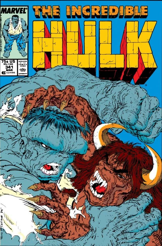 Incredible Hulk (1962-1999) #341