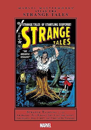 Atlas Era Strange Tales Masterworks Vol. 4