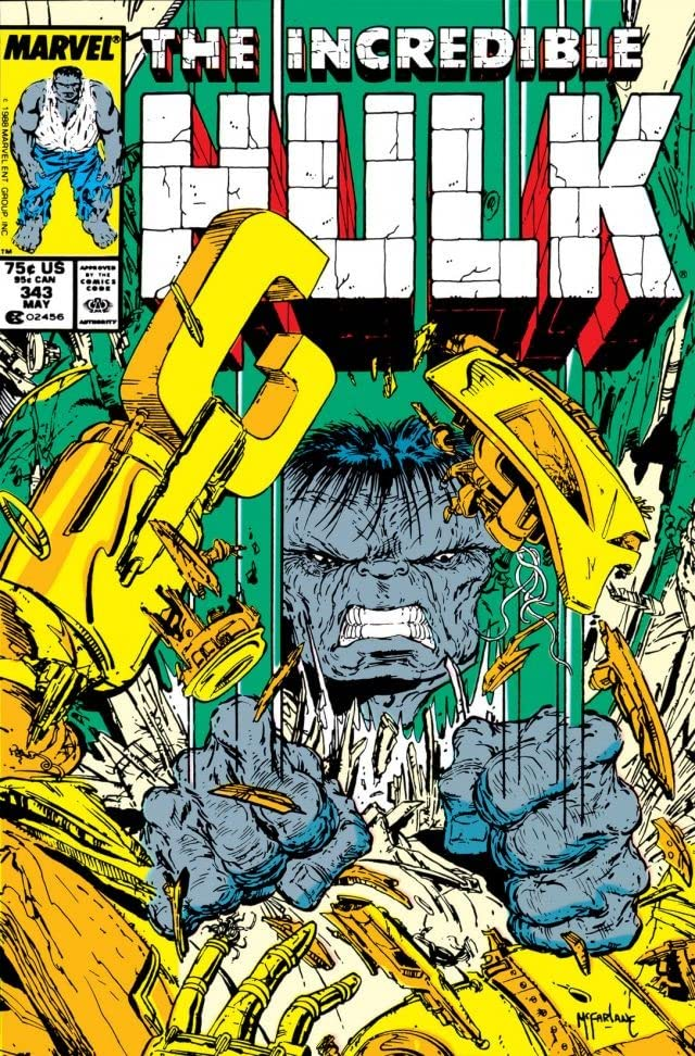 Incredible Hulk (1962-1999) #343
