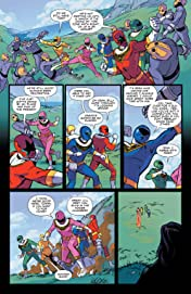 Mighty Morphin Power Rangers 2018 Annual