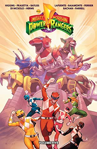 Mighty Morphin Power Rangers Tome 5